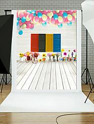 Toile de fond en vinyle enfant studio photographie artistique arrière-plan bébé 5x7ft
