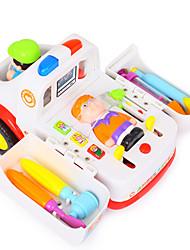 Недорогие -Игрушечные машинки Ролевые игры Медицинские комплекты Машина скорой помощи Игрушки Электрический Пластик Детские Куски