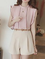 Camicia Pantalone Completi abbigliamento Da donna Compleanno Da sera Da giorno Casual Bici da strada PratoPantaloni Stile naturalistico