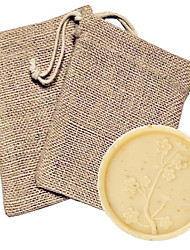 cheap -Cherry Blossom Soap Favor in Burlap Bag Beter Gifts® DIY Handmade Souvenirs