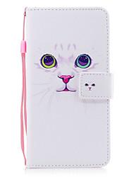 economico -Per iPhone X iPhone 8 Custodie cover Porta-carte di credito A portafoglio Con supporto Con chiusura magnetica Fantasia/disegno A calamita