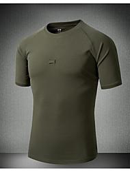povoljno -Muškarci Póló túrázáshoz Vanjski Ljeto Quick dry Majice Crn Vojska Green Nogomet Biciklizam / Bicikl Vojni