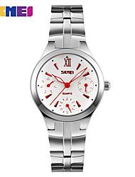 baratos -Mulheres Relógio Esportivo / Relógio inteligente / Relógio de Pulso Chinês Impermeável / Criativo / Legal Metal Banda Amuleto / Fashion / Relógio Elegante Cores Múltiplas / Mostrador Grande