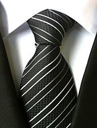 mode masculine tous polyster necktieneckwear rayé toutes saisons
