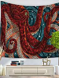 Недорогие -Декор стены 100% полиэстер Средиземноморье Предметы искусства,Стена Гобелены из 1