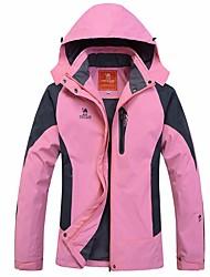 Mujer Chaqueta para senderismo Secado rápido Resistente al Viento Vestidos Prendas de abajo para Esquí Camping y senderismo Snowboard