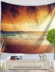 cheap -Wall Decor Polyester/Polyamide Patterned Wall Art, Wall Tapestries of 1