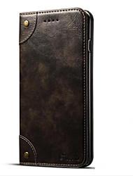 economico -Custodia Per Apple iPhone 7 Plus iPhone 7 Porta-carte di credito A portafoglio Con supporto Con chiusura magnetica A calamita Integrale