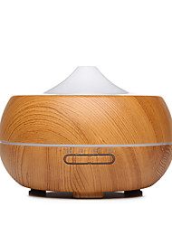 cheap -New Ultrasonic Intelligent Mute Wood Grain Fragrant Machine Large Capacity 300 ML Creative Wood Grain Air Humidifier