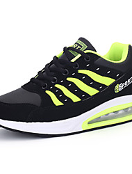 Men's Shoes PU All Seasons Lovers Comfort Athletic Shoes Lace-up For Daily Sports Casual/Daily White Dark Blue Red Light Green