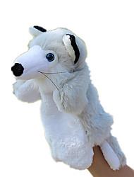 economico -Marionetta da dito Marionette Marionetta Giocattoli Rabbit Animali Carino Animali Adorabile Tessuto felpato Felpato Bambino (1-3 anni)