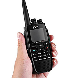 abordables -Tyt dm - uvf10 radio digital 5w 256ch vox gps mensaje scrambler talkies digitales bidireccional radio transceptor walkie talkie