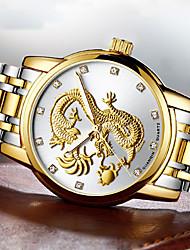 Bărbați Ceas Elegant Ceas La Modă Ceas de Mână Ceas Brățară ceas mecanic Unic Creative ceas Ceas Casual Japoneză Rezistent la Apă Gravură