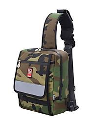 preiswerte -Skateboard Tragetasche Rucksack für Skateboarding cm Modisch Outdoor Herrn Unisex Nylon Camouflage Grün Schlamm Farbe