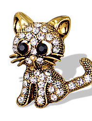 cheap -Women's Brooches - Animal Unique Design, Fashion, Cute Brooch Gold / Silver For Special Occasion / Event / Party / Daily / Casual