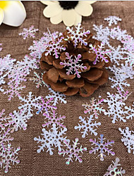 300 piece / set 2cm snowflake Appliques Wedding /Christmas decoration /craft DIY