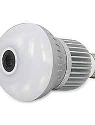 cheap -HT Light Bulb Camera Infrared Night Vision Camera Home Security Artifact Panoramic View Of 360 Degrees Monitoring Maximum Support 128GTF Card