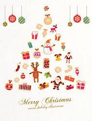 cheap -Wall Stickers Wall Decas Style Merry Christmas PVC Wall Stickers