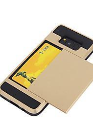 economico -Custodia Per Samsung Galaxy S8 Plus S8 Porta-carte di credito Custodia posteriore Tinta unica Morbido TPU per S8 S8 Plus