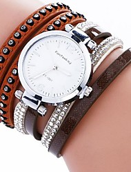 Women's Bracelet Watch Digital Metal Band Black White Blue Red Brown Grey Khaki