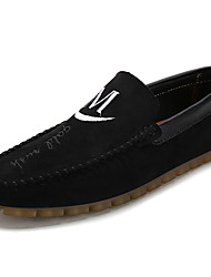 Da uomo Sneakers Footing Moccasino Cashmere Primavera Autunno Casual Piatto Nero Marrone Blu 5 - 7 cm