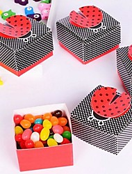 12 Piece/Set Favor Holder-Creative Card Paper Favor Box Candy Bag 6 x 6 x 3.8 cm/pcs Beter Gifts® Baby Birthday Party Decor