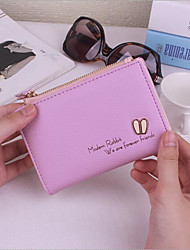 Women Bags All Seasons PU Coin Purse with for Blue Gray Purple