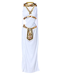 cheap -Egyptian Costume Goddess Cleopatra Movie/TV Theme Costumes Cosplay Costume Party Costume Women's Halloween Festival / Holiday Halloween