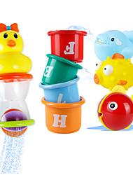 abordables -Juguete de Agua Juguete de Baño Juguetes Pato Plásticos Piezas Niños Regalo