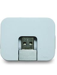 AKASA 00998 HUB USB2.0  4 Ports 480 Mbps High-Speed 4 Colors Available