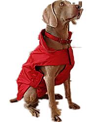 economico -Cane Gilè Piumini Abbigliamento per cani Casual Solidi Fucsia Rosso Blu Costume Per animali domestici