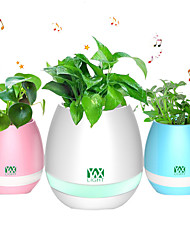 cheap -YWXLIGHT® New Bluetooth Speaker Smart Colorful Piano Music Flower Pot Touch Induction Creative Gift Indoor Green Plant Music Potted Plant