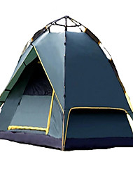 CAMEL 3-4 persons Tent Double Camping Tent Automatic Tent Well-ventilated Waterproof Rain-Proof Dust Proof Foldable 2000-3000 mm for