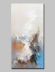 economico -Dipinta a mano Astratto Verticale,Astratto Modern Un Pannello Tela Hang-Dipinto ad olio For Decorazioni per la casa