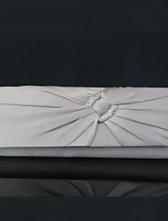 cheap -Women's Bags Silk Clutch Rhinestone / Chain Red / Apricot / Purple
