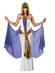 cheap -Egyptian Costume / Queen / Cleopatra Cosplay Costume / Masquerade / Party Costume Women's Halloween / Carnival Festival / Holiday