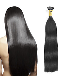cheap -Fusion /I Tip Human Hair Extensions Straight Women's Daily