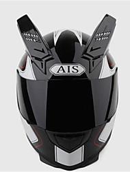 cheap -AIS 605 Motorcycle Helmetmale And Female Half Full Helmet Coat Style Cool Four Seasons Summer Helmet Motorcycle Racing Horn With Black Tea Lens