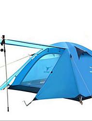 abordables -3-4 personnes Tente Tente de camping Tente pliable Garder au chaud Etanche pour Camping / Randonnée Autre matériel CM