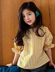 Mädchen Bluse Streifen Baumwolle Sommer
