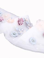 economico -copricapo della sciarpa di capelli di tulle festa nuziale elegante stile femminile