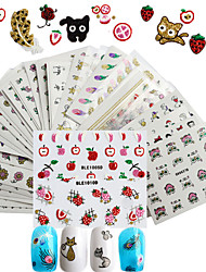 cheap -50 3D Nail Stickers Sticker DIY Supplies 3-D Girls & Young Women Fashion Daily High Quality