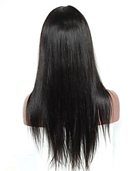 cheap -Human Hair Lace Front Wig Deep Wave 120% Density 100% Hand Tied African American Wig Natural Hairline Long Women's Human Hair Lace Wig