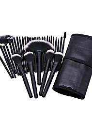 cheap -32 Foundation Brush Powder Brush Fan Brush Eyelash Brush Eyelash Brush dyeing Brush Eyelash Comb (Round) Eyeshadow Brush Blush Brush
