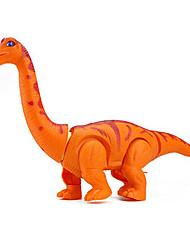Недорогие -LED освещение Конструкторы Игрушки Животные Прогулки моделирование Большой размер Электрический Тиранозавр Динозавр Пластик Куски Для