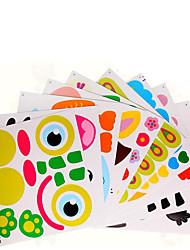 abordables -Jouets A Faire Soi-Même Carré Papier Classique Pièces Enfant Cadeau