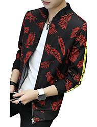 Veste Homme,Couleur Pleine arbres/Feuilles ModeAutre Quotidien Décontracté Vêtements de Plein Air Soirée Grandes Tailles Rendez-vous