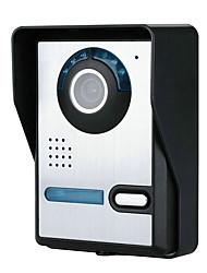 Недорогие -720p беспроводной wifi видео дверной телефон doorbel домофон ночного видения водонепроницаемая камера с дождевой крышкой
