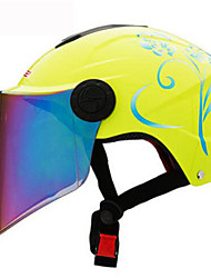 cheap -LS2  Of108  Motorcycle Helmet Summer Helmet Four And A Half Years Sunscreen Helmets With Color Lenses