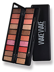 10*4 Palette Fard à paupières Mat Lueur Palette Fard à paupières Maquillage Quotidien Maquillage Smoky-Eye